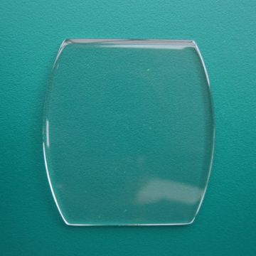 Generic Cartier Single Curve Mineral Watch Glass 28.00 x 27.00 -  1.0mm to 1.7mm Thickness